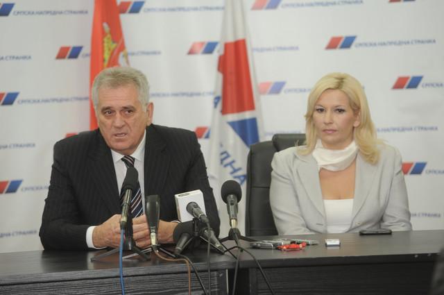 Predsednik Nikolić i ministarka Mihajlović