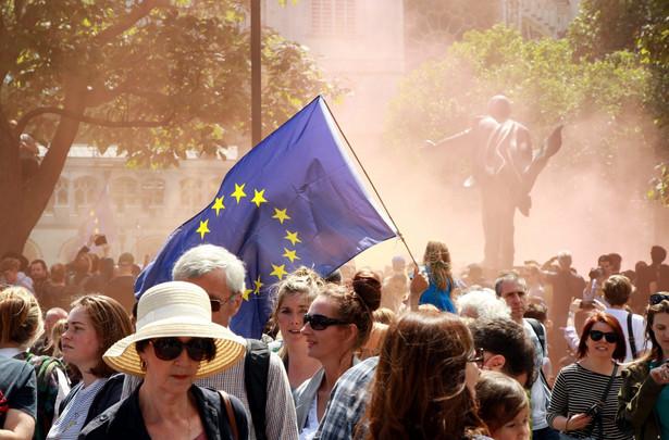 Marsz przeciw Brexitowi w Londynie