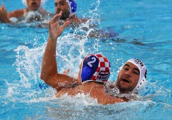 Duško Pijetlović je vodio veliku borbu sa hrvatskim vaterpolistima