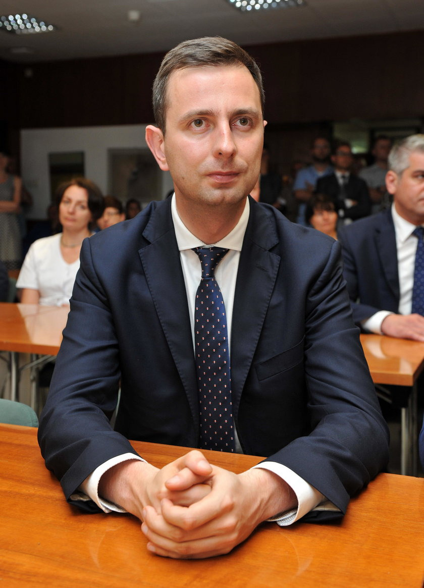 Polityk opozycji załamany protestem w Sejmie