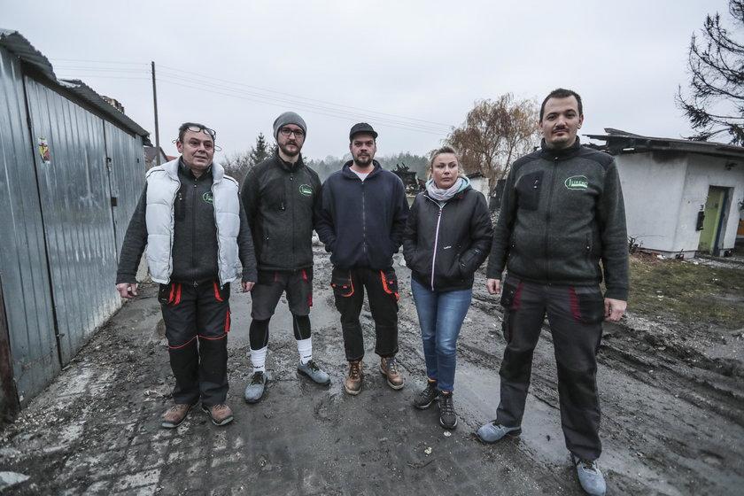 Zielona Góra: Pracownicy chcą odbudować hurtownię po pożarze