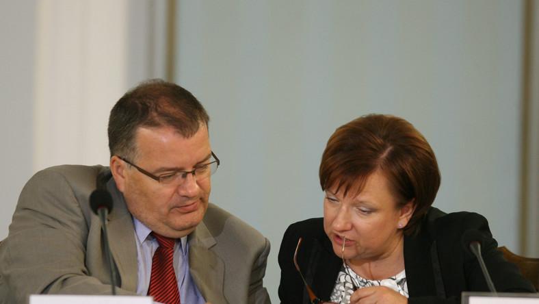Andrzej Dera i Beata Kempa