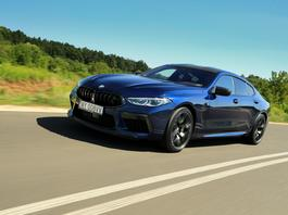 BMW M8 Competition Gran Coupe - autobahnowy pocisk