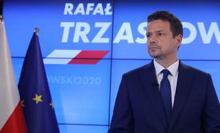PKW zarejestrowała dziewięciu kandydatów. Nadal liczy podpisy Trzaskowskiego
