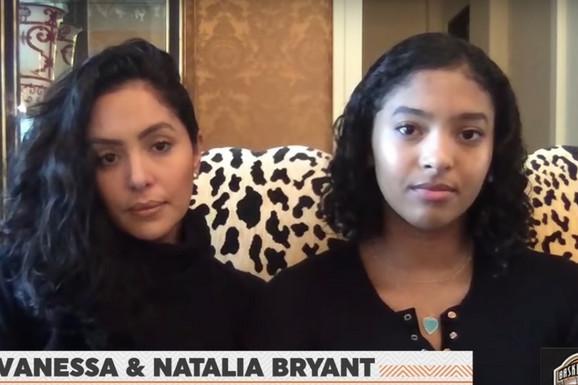 VANESA BRAJANT SA SUZOM NA LICU Ceo svet opet priča o Kobiju, porodica se oglasila - pred SVET izašla i ćerka Natalija! /VIDEO/