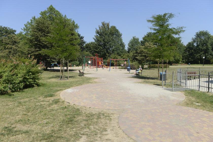 Plac zabaw w Parku Staszica we Wrocławiu