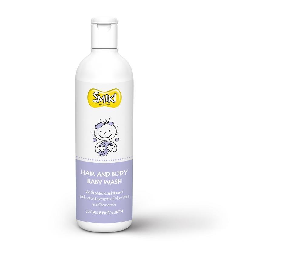Smiki – żel do mycia włosów oraz ciała