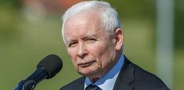 Kryzys na granicy. Kaczyński zaliczył wpadkę na konferencji