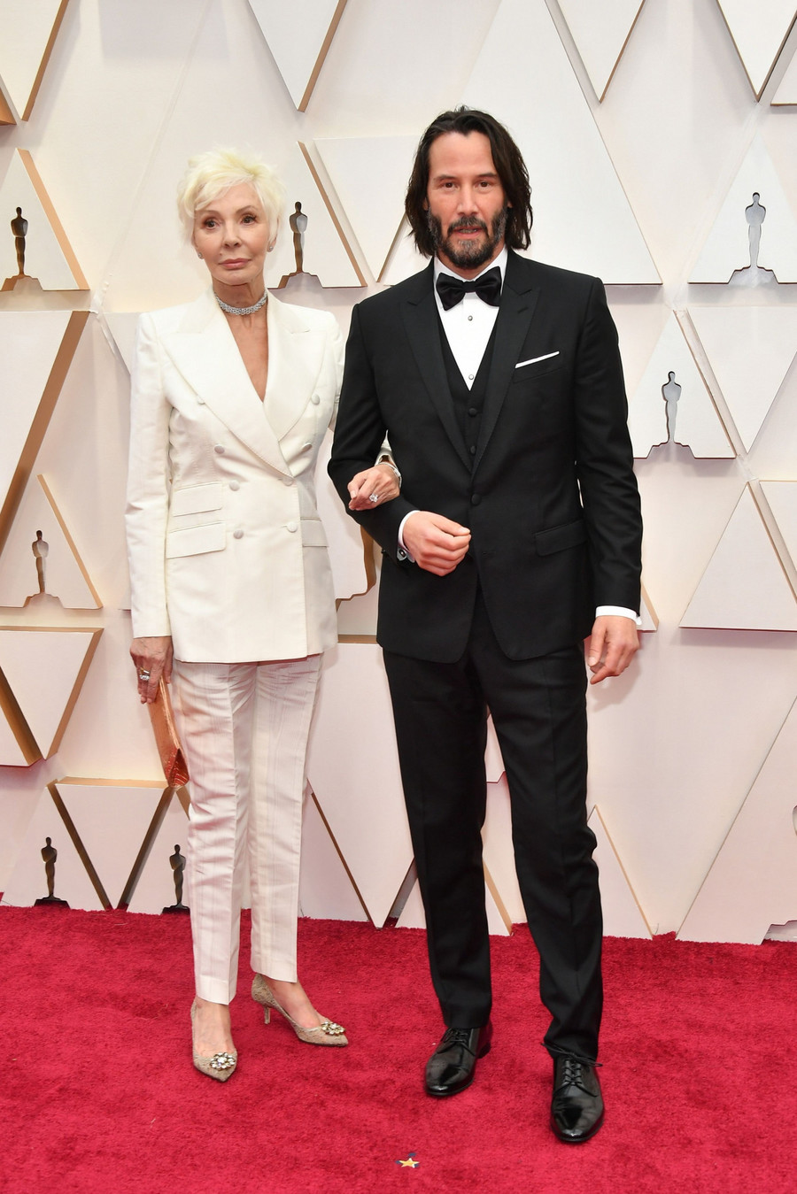 Patricia Taylor i Keanu Reeves / Amy Sussman/Getty AFP/East News