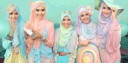 Różowe hidżaby? Te muzułmanki chcą przełamać tabu