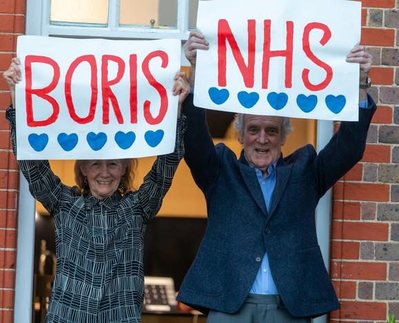 Podrška građana Londona obolelom premijeru