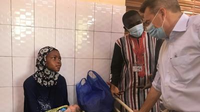 Burkina's victims of jihadist violence find welcome at free health clinic