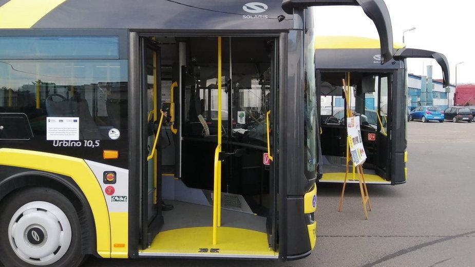Nowe autobusy w Sieradzu