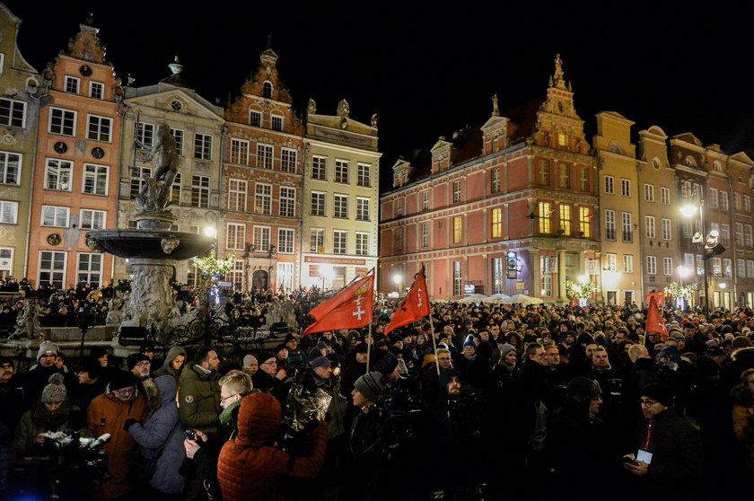 Poruszające sceny w Gdańsku
