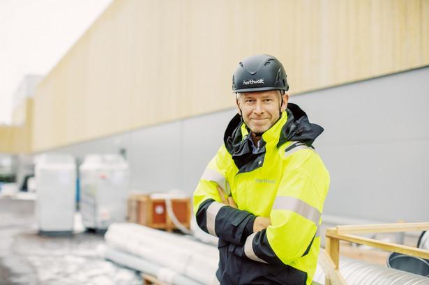 Współzałożyciel i prezes firmy Northvolt Peter Carlsson
