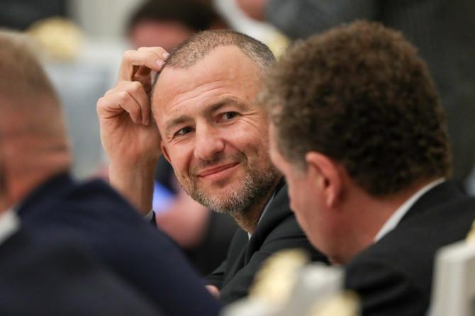 Šarmantni osmeh Andreja Meljničenka