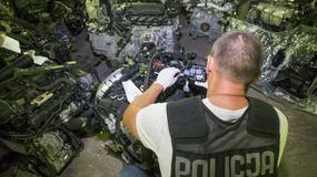 Kradzieże samochodów w Polsce wg policjantów