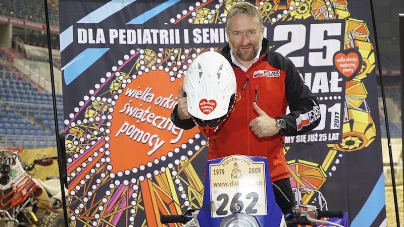 Rafał Sonik wystawił swój quad, na którym w Rajdzie Dakar 2009 zajął III miejsce