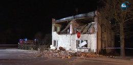 Runęło piętro w budynku wielorodzinnym. Wybuchła butla z gazem