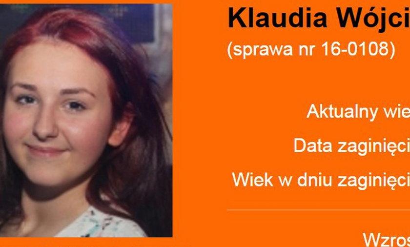 Zaginęła 15-letnia Klaudia Wójcik z Wejherowa