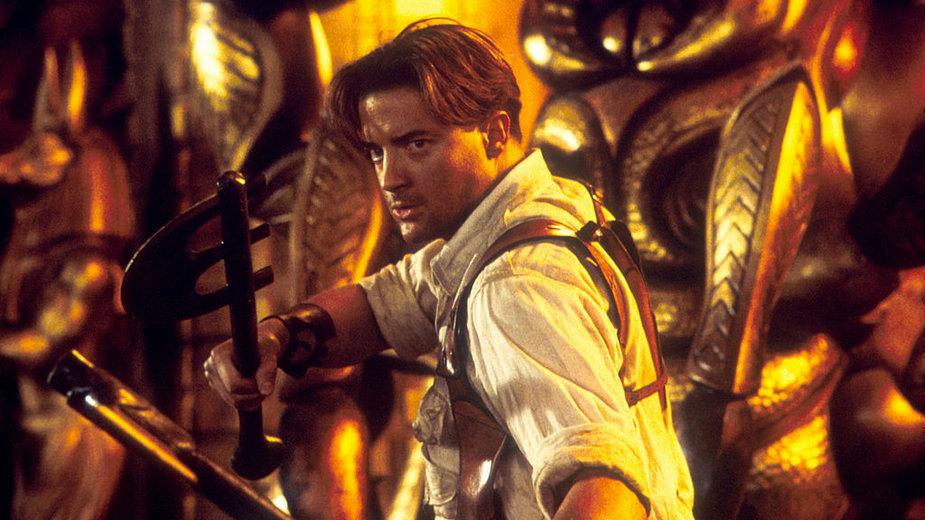 """Brendan Fraser w filmie """"Mumia powraca"""" (2001)"""
