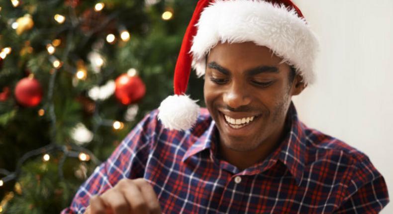 Christmas black man(nemetas)