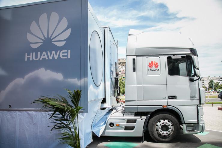 Huawei truck