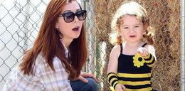 Gwiazda przebrała córkę za pszczółkę