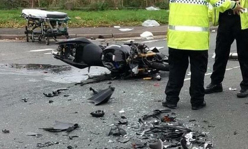 Motocyklista umierał na środku drogi. Lekarz dokonał czegoś niemożliwego