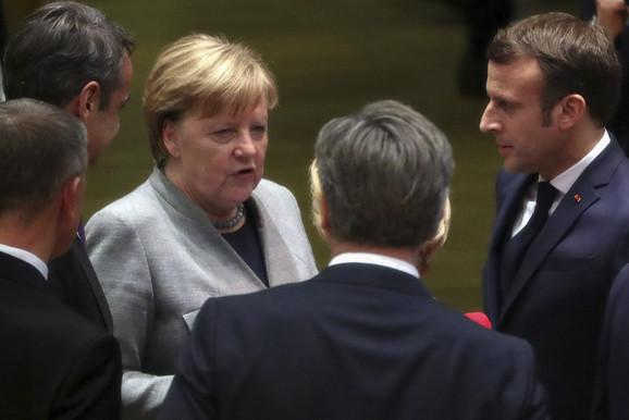 Lideri EU na samitu u Briselu