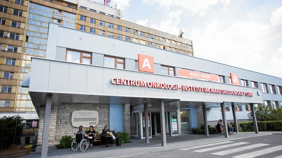 Centrum Onkologii, Instytut im. Marii Skłodowskiej-Curie w Warszawie