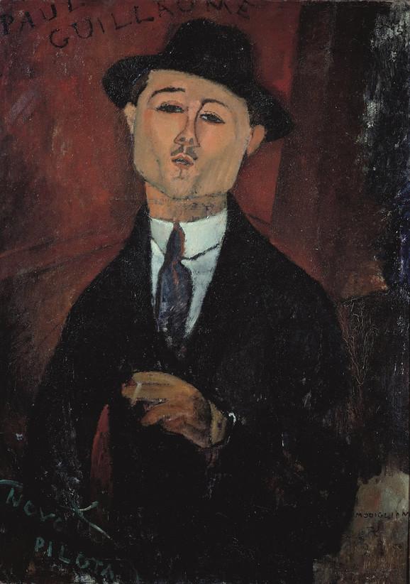 Portret Pola Gijoma, 1915, Musée de l'Orangerie, Paris. Collection Jean Walter et Paul Guillaume