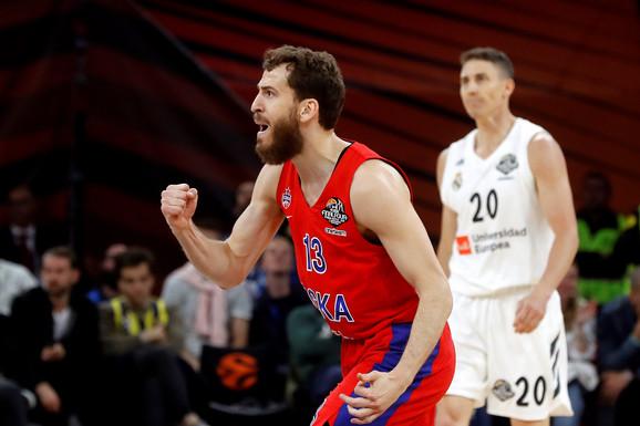 CSKA je u polufinalu posle preokreta savladao Real Madrid