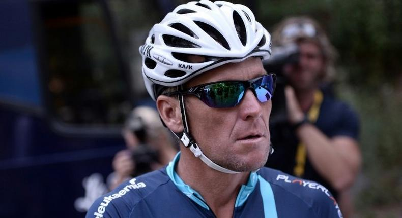American Lance Armstrong, seen in 2015, crossed the finish line first in the Tour de France from 1999-2005 but later admitted taking banned performance-enhancing drugs after years of denials