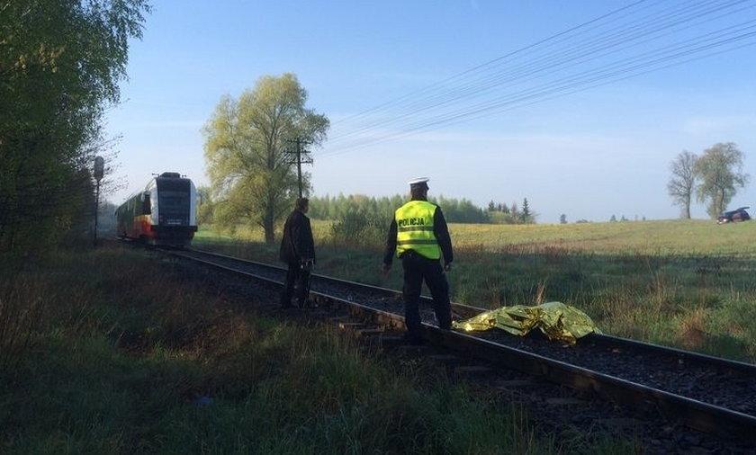 Śmiertelny wypadek na torach pod Sztumem, pociąg rocjechał nastolatka