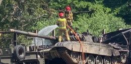 PILNE! Pożar czołgu i wybuchy na autostradzie A6. Co się dzieje pod Szczecinem?!