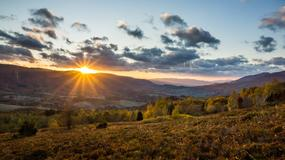 Dobre warunki dla turystów w Bieszczadach i Beskidzie Niskim