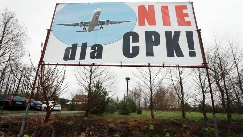 Mieszkańcy Stanisławowa: Nie dla CPK
