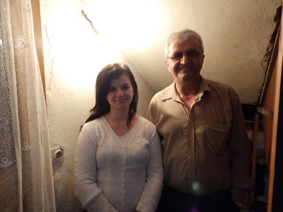 Dr Gojko Filipović sa ćerkom Majom