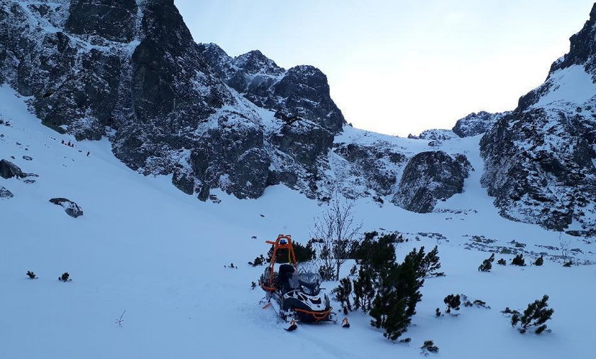 Tragedia w słowackich Tatrach