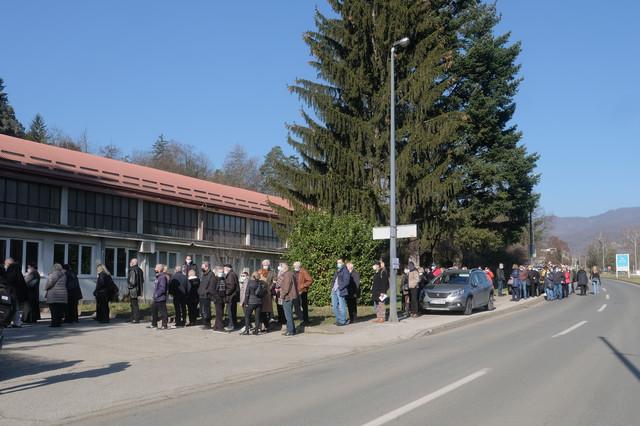 Vaccination in Zagreb