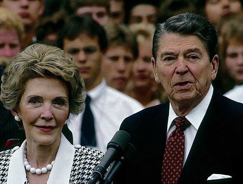 Nancy Reagan, 1987