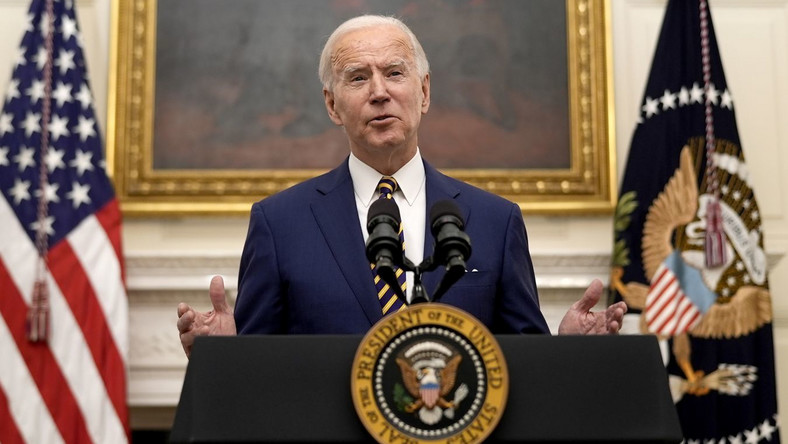 Joe Biden EPA/Ken Cedeno / POOL Dostawca: PAP/EPA.