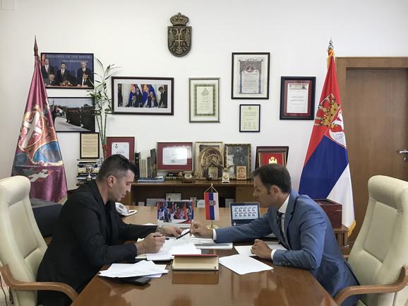 Zoran Đorđević i Siniša Mali