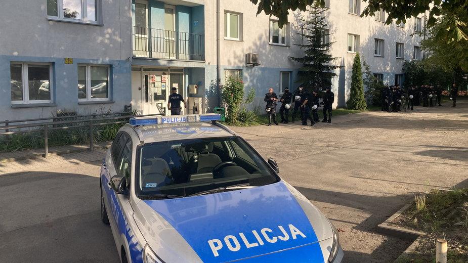 Wrocławski komisariat policji przy ul. Trzemeskiej
