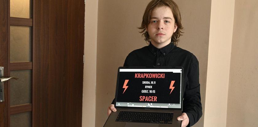 14-latek z Krapkowic udostępnił post o strajku na Facebooku. Jest decyzja sądu