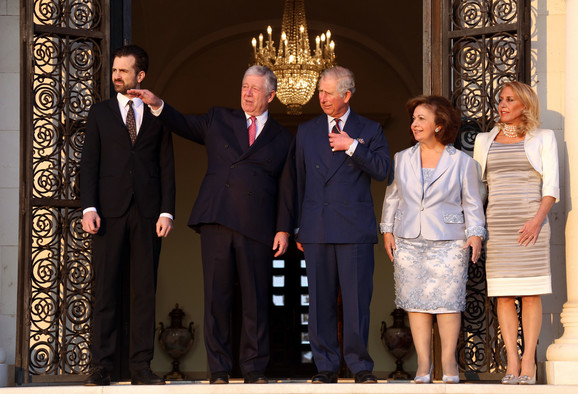 Princ Čarls u poseti Porodici Karađorđević