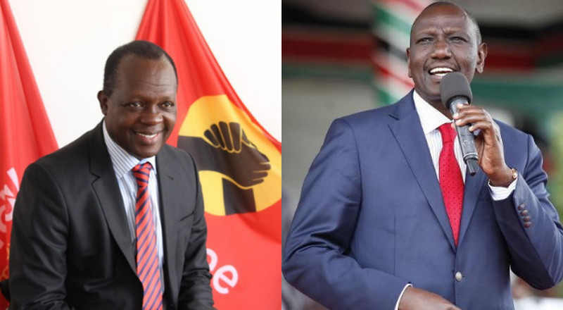 Raphael Tuju responds after DP Ruto protested changes made in Jubilee Party