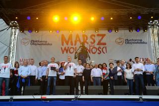 12 maja w Warszawie 'Marsz Wolności' PO w obronie demokracji