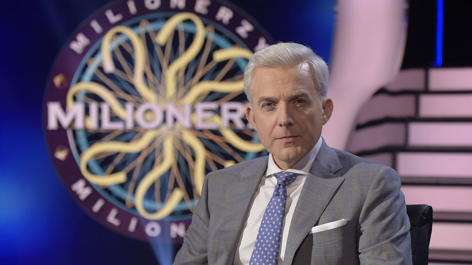 """Hubert Urbański w programie """"Milionerzy"""""""